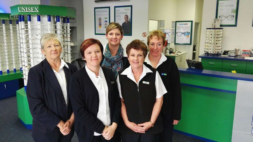 Our friendly staff from the left Loryn Beckley,Istelle Barnardo, Liezl Els, Cheryl Rudman and Janine Relling